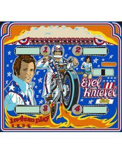 Evel Knievel Backglass