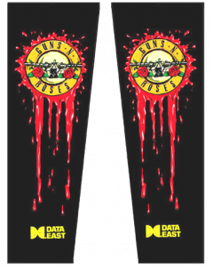 Guns N' Roses Backbox Decals
