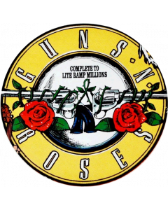 Guns N' Roses Playfield Overlay