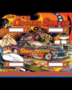 Nitro Ground Shaker Backglass