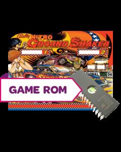 Nitro Ground Shaker CPU Game Rom Set