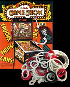 The Bally Game Show Rubber Set