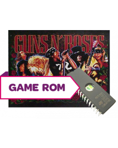 Guns N' Roses Game/Display Rom Set (French)