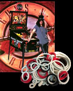 Guns N' Roses Rubber Set