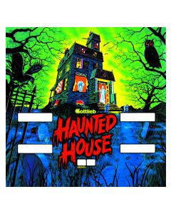 Haunted House Backglass