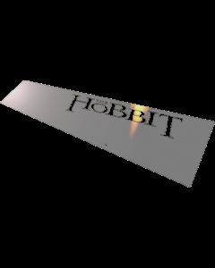 """Mirror Blades for Jersey Jack Pinball The Hobbit """"Spiegelblech"""""""