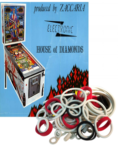 House of Diamonds Rubber Set