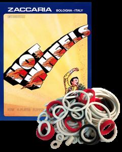 Hot Wheels Rubber Set