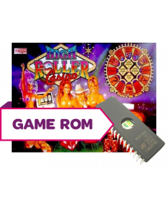 High Roller Casino Game/Display/Sound Rom Set (Italian)