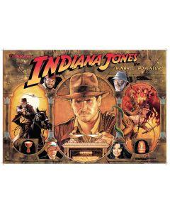 Indiana Jones Acrylic Backglass