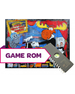 Adventures of Rocky and Bullwinkle and Friends Game/Display Rom Set