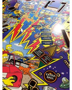 The Simpsons Pinball Party NOS Playfield Set