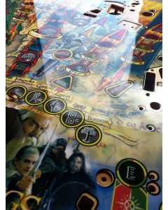 Lord of the Rings NOS Playfield