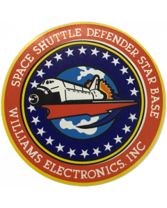 Space Shuttle Playfield Center Overlay