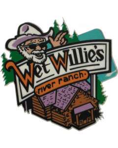 White Water Wet Willies Decal