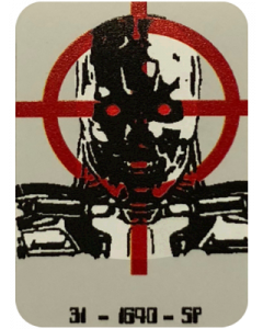 Terminator 2 Target Decal