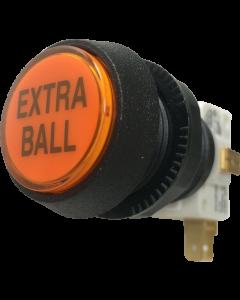 Extra Ball Button Orange