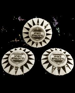Space Invaders Bumper Cap Set