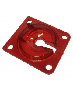 Transparent Red Eject Hole Plastic