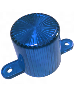 Dome Flash Lamp Screw Blue