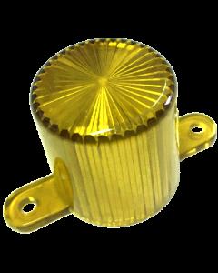 Dome Flash Lamp Screw Yellow