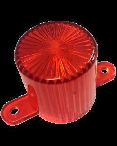Dome Flash Lamp Screw Amber