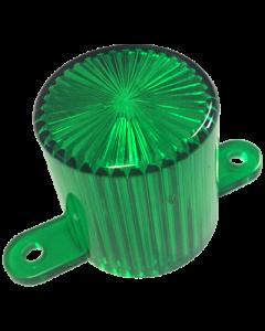 Dome Flash Lamp Screw Green