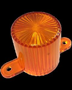 Dome Flash Lamp Screw Orange