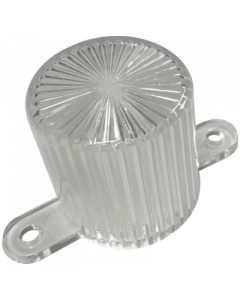 Dome Flash Lamp Screw Clear