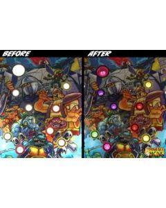 TMNT Mode Light Bracket Set - 9 Inserts