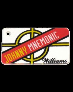 Johnny Mnemonic Promo Plastic