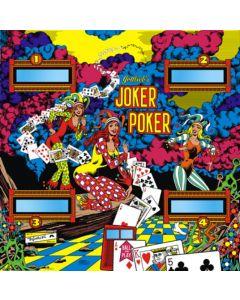 Joker Poker Backglass