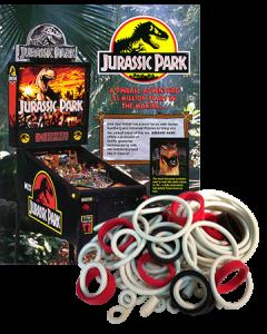 Jurassic Park Rubber Set