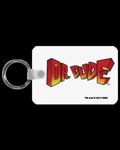 Dr Dude Logo Key Chain
