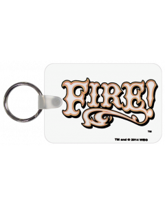 Fire Logo Key Chain