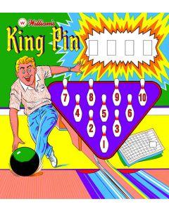 King Pin Backglass