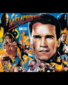 Last Action Hero Acrylic Backglass