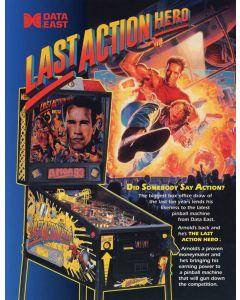 Last Action Hero Flyer