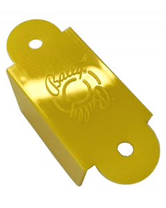 Bally Logo Lane Guide Yellow