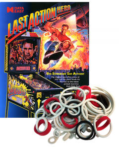Last Action Hero Rubber Set