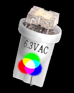 #555 Flux Flat Lens LED Multicolor RGB