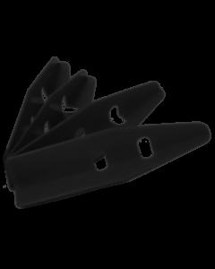 Cabinet Protectors 4 Piece Set Black