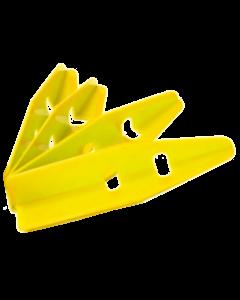 Cabinet Protectors 4 Piece Set Yellow