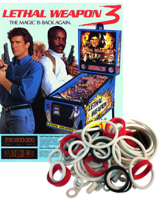 Lethal Weapon 3 Rubber Set