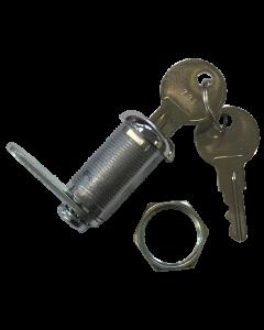 Lock Door 1-1/8 Chrome