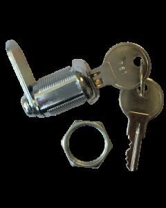 Lock Door 7/8 Chrome Series