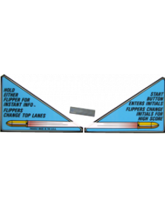 Lethal Weapon 3 Apron Decal Set