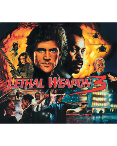 Lethal Weapon 3 Acrylic Backglass