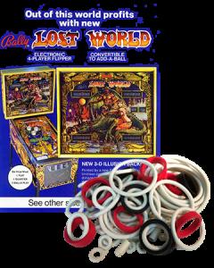 NEW BALLY PINBALL MACHINE COIN DOOR  STICKER  PLAYBOY  KISS  WIZARD  LOST WORLD