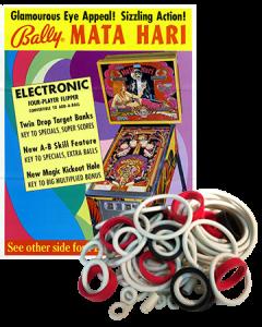 Mata Hari Rubberset
